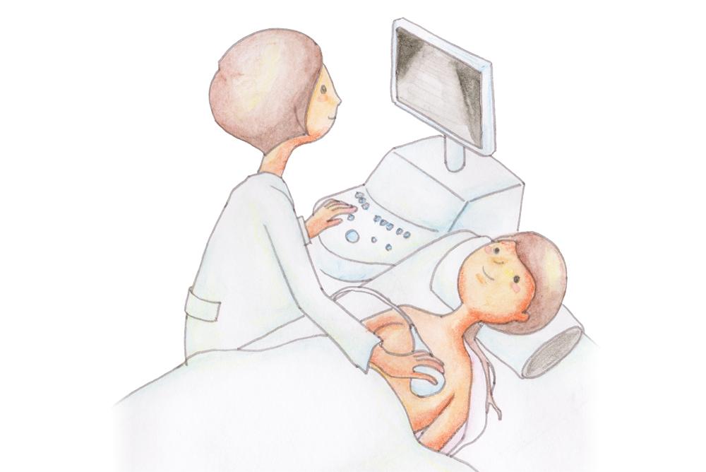 乳腺科エコー検査